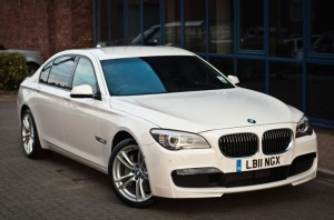 BMW 7 Series Chauffeur driven Service