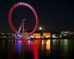 Chauffeur Driven London Eye Tours