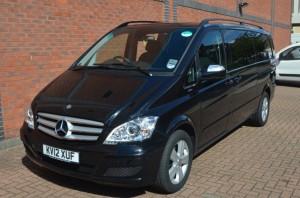 Chauffeur Driven Mercedes Viano minibus