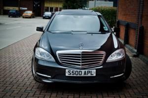 Mercedes S Class Chauffeur Driven Car