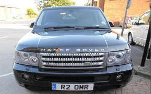 Range Rover Sport Front View - Chauffeur Driven