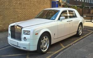 Rolls Royce Phantom Chauffeur Driven Car