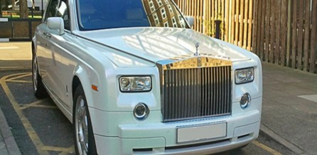 Rolls Royce Phantom - Front View